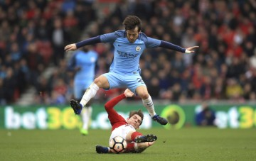 FA Cup: Manchester City vyhral v Middlesbrough, Arsenal rozbil Lincoln'
